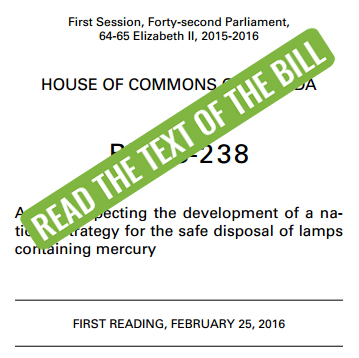 Read the Text of Bill C-238