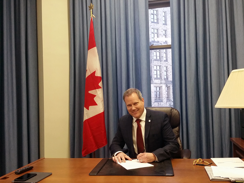 Bright Idea u2013 Darren Fisher, Member of Parliament Dartmouth u2013 Cole Harbour