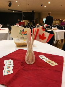 Canada 150 Table